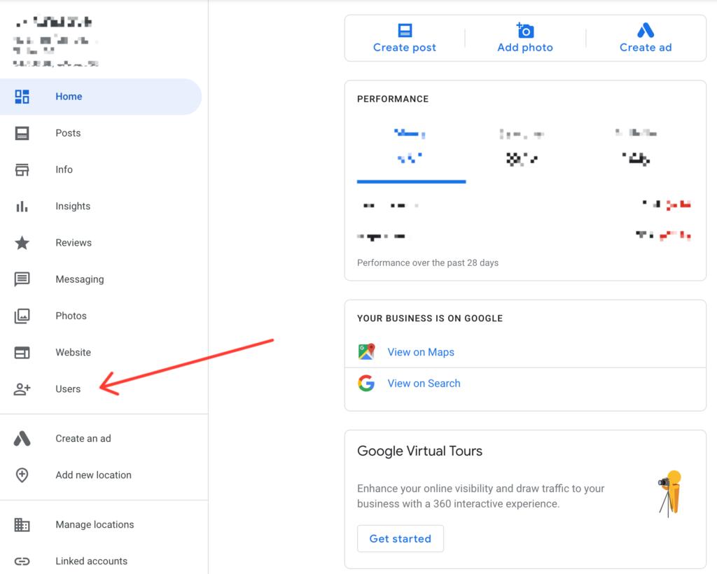 add user google business