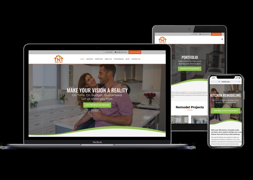 TNTDNB website by L7 Advertising