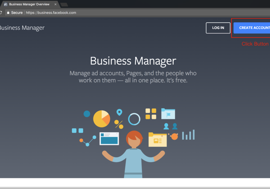 Sign Up for Facebook Business Manager - Step 2 Screenshot